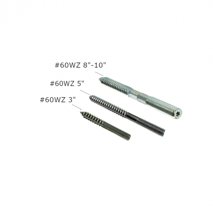 60WZ Coach Screw Rod