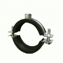 Swivel & Split Ring Hangers, 40 Split Ring Clamp (Rubber Lined)