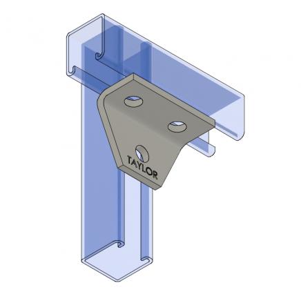 AF430 Three-Hole Shelf Gusset Angle
