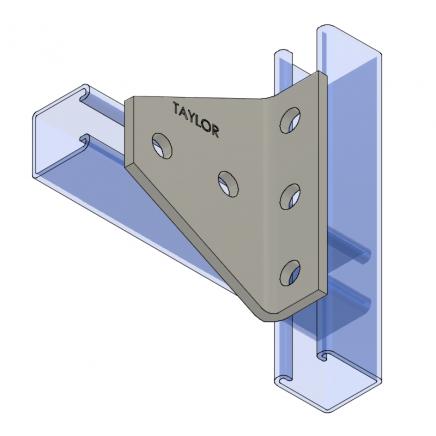 AF540 Five-Hole Shelf Gusset Angle