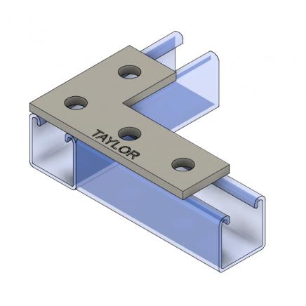 FP604 4-Hole Corner Plate