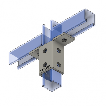 WF810 8-Hole Double Wing Connection