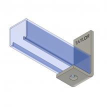 Strut Fitting - Angular, AF100 One-Hole Corner Angle