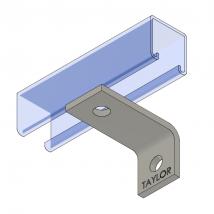 Strut Fitting - Angular, AF101 Two-Hole Corner Angle