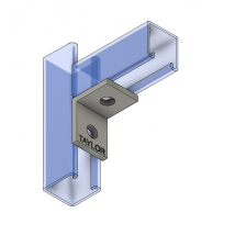 Strut Fitting - Angular, AF201 Two-Hole Corner Angle