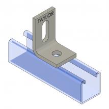 Strut Fitting - Angular, AF211 Two-Hole Adjustable Corner Angle