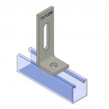 Strut Fitting - Angular, AF212 Two-Hole Adjustable Corner Angle