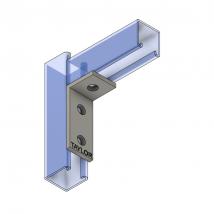 Strut Fitting - Angular, AF302 3-Hole Corner Angle