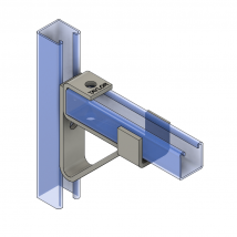 Strut Brackets & Bracing, SB120 Single Channel Bracket