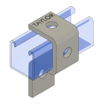 Strut Fitting - U Shape, UF331 Three-Hole Cup Support